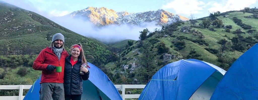 Yosemite Escape 3-day camping tour