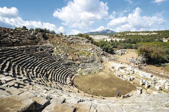 Visite en petit groupe de Stratonikeia antique et dégustation de vin