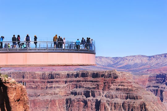 Grand Canyon West and Hoover Dam with Seven Magic Mountains day tour