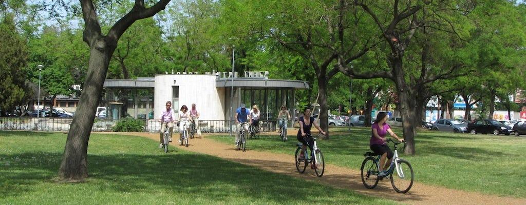 Easy breezy bike tour in Budapest