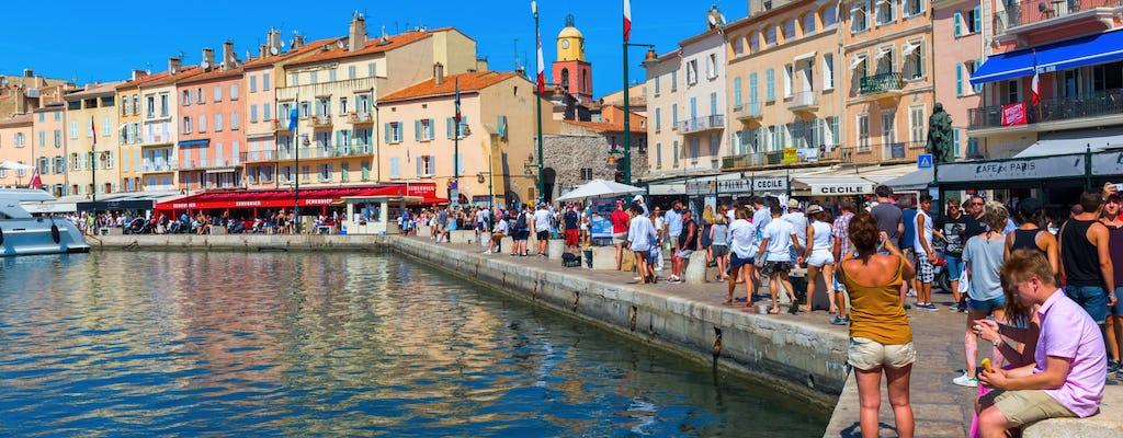 Tour e crociera di un'intera giornata a Saint Tropez