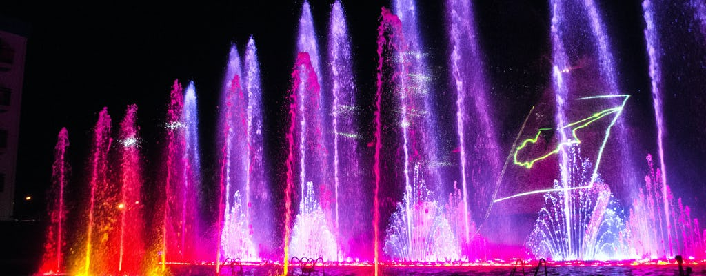 Pokaz Magic Dancing Waters Show bilet