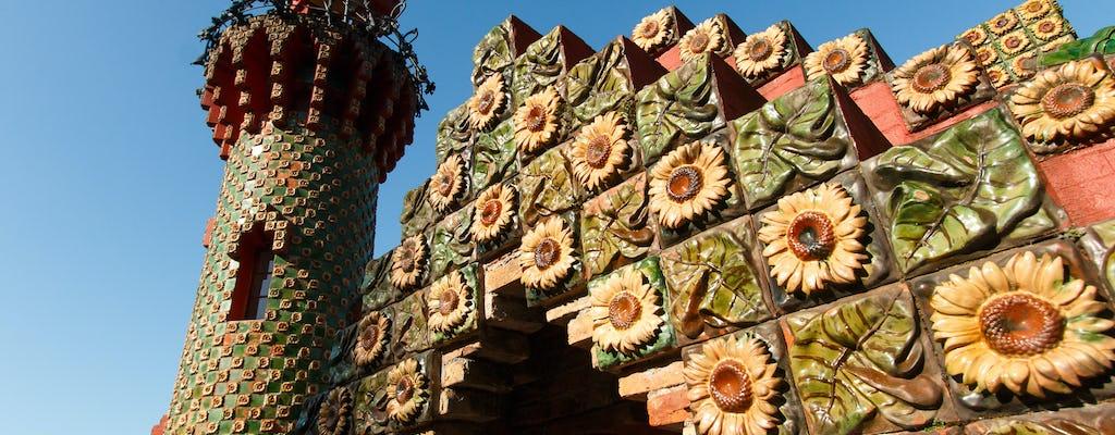 El Capricho van Gaudí en Comillas rondleiding