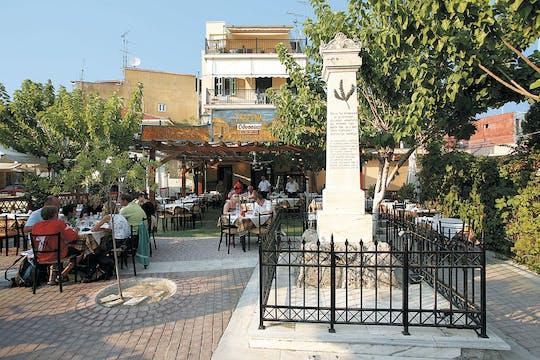 Transfert à la ville de Zakynthos