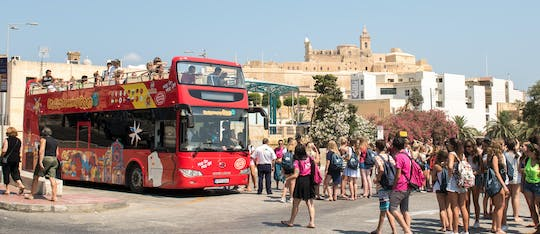 City Sightseeing hop-on hop-off bus tour of Gozo