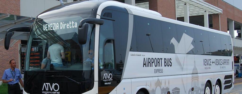 Traslado exprés desde el aeropuerto Marco Polo al centro de Venecia