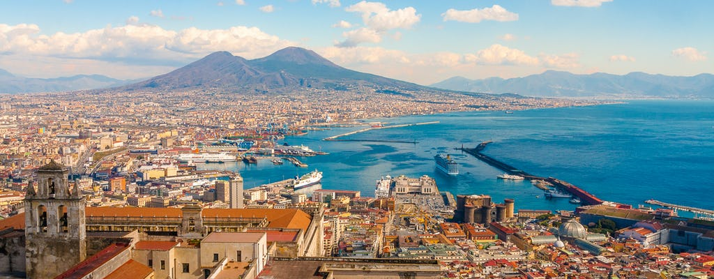 Passeio a pé de Nápoles por Roma
