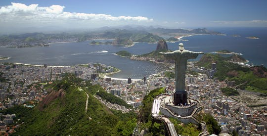 Sugarloaf, Selaron Steps and Christ Redeemer full-day tour with optional barbecue lunch