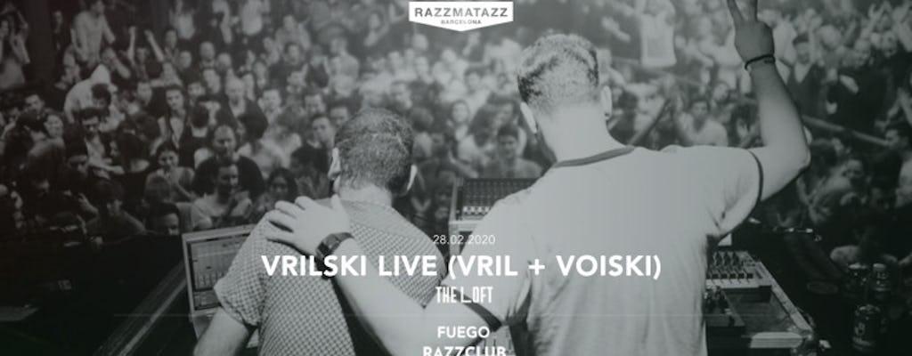 Vrilski Live (vril + Voiski @ The Loft & Razzclub: Fuego