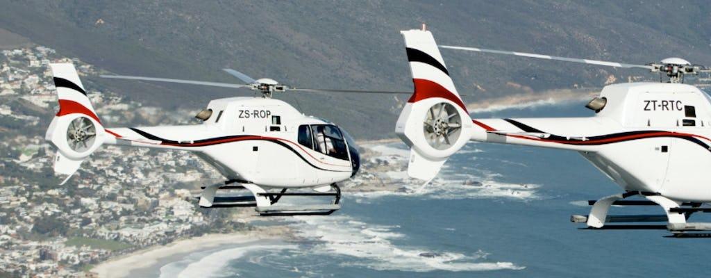 Cape Town Twelve Apostles - voo panorâmico de helicóptero de 16 minutos