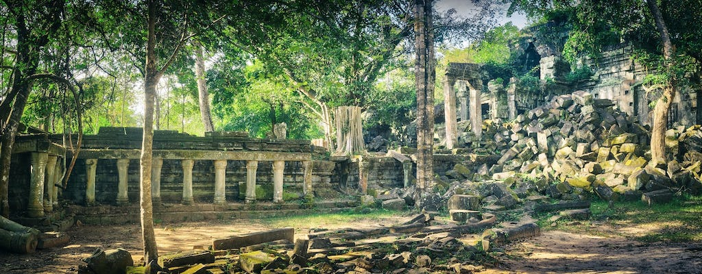 Koh Ker and Beng Mealea excursion from Siem Reap