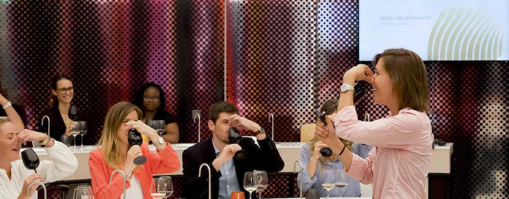 1-hour wine discovery workshop in Bordeaux