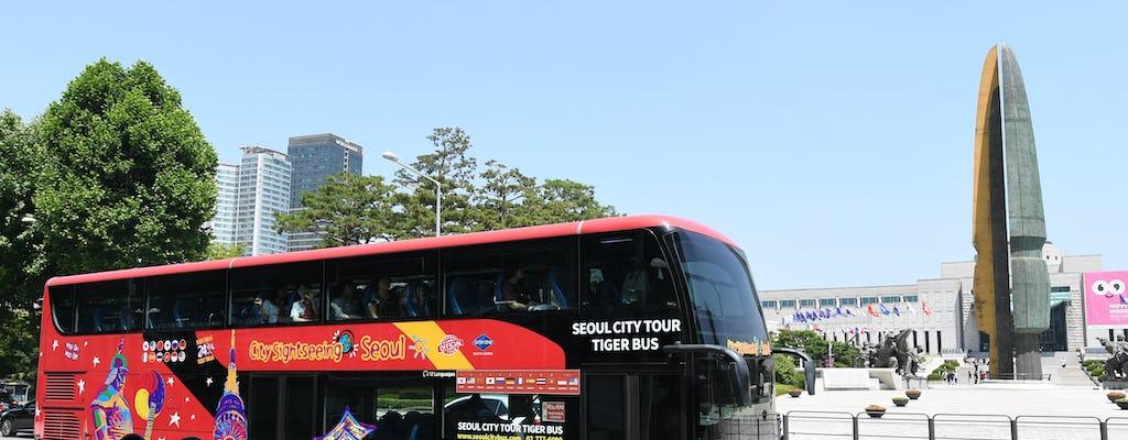 Hop-on hop-off bus tour of Seoul