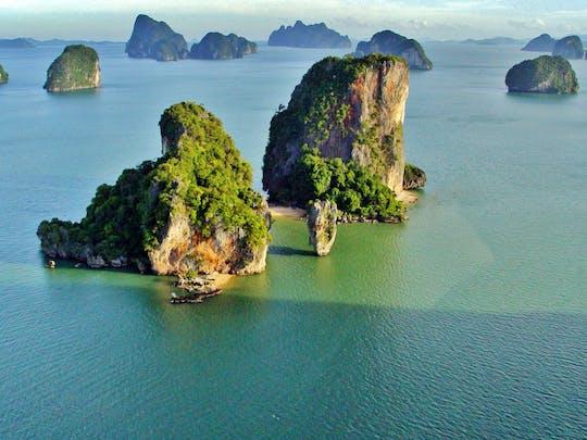 Zwiedzanie największych atrakcji zatoki Phang Nga