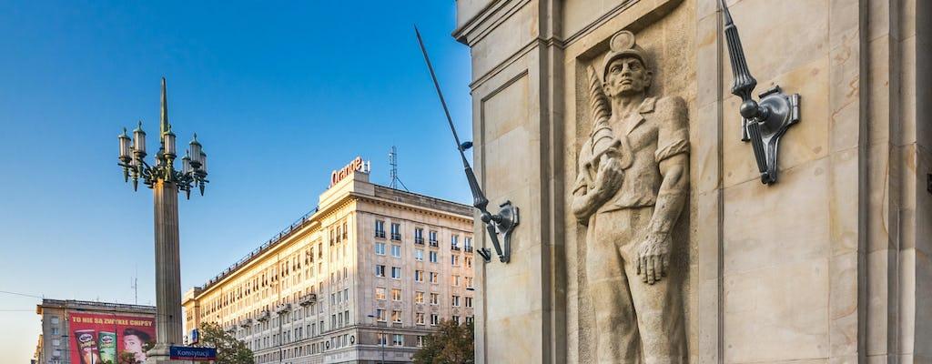 Warsaw's communist history private tour