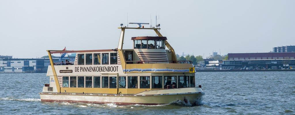 Crucero de panqueques de 75 minutos en Amsterdam