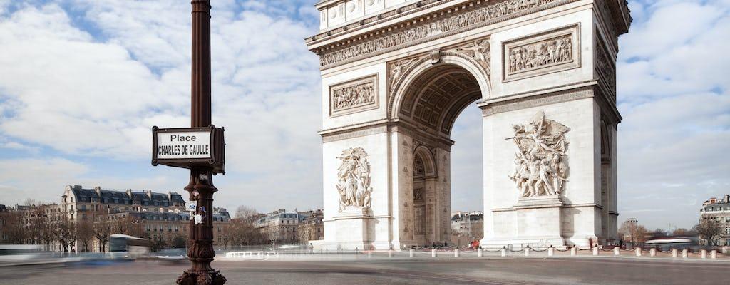 Billets coupe-file pour la terrasse de l'Arc de triomphe