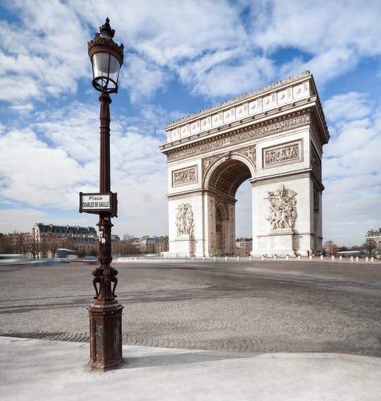 Skip-the-line tickets to the Arc de Triomphe's rooftop