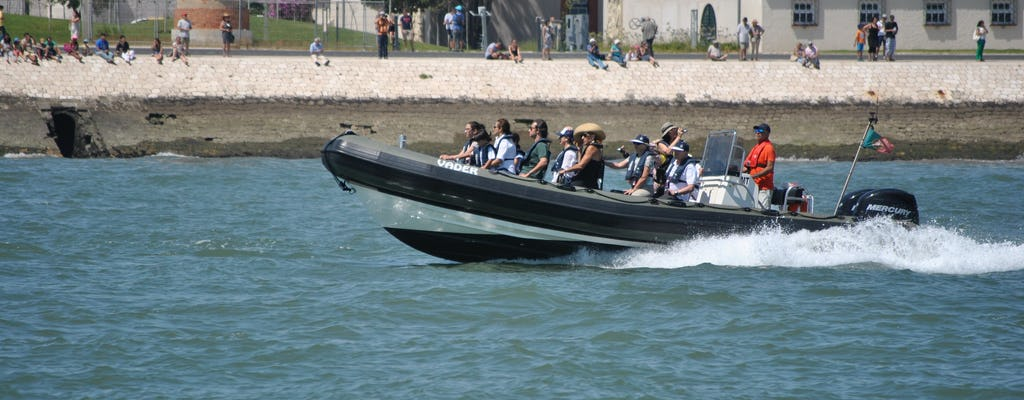 Lisbon 1-hour cultural boat tour