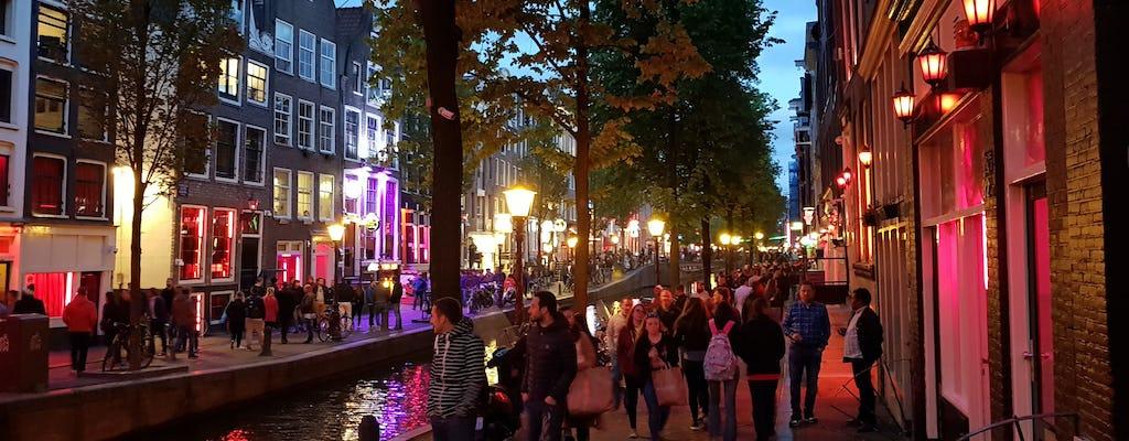 1,5-godzinna piesza wycieczka po dzielnicy czerwonych latarni w Amsterdamie