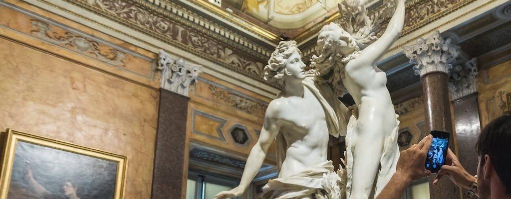 Visita guiada de la Galería Borghese y los jardines de Villa Borghese.