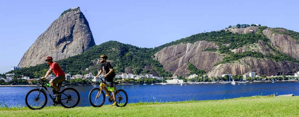 Bike tour in Rio with Sugarloaf and downtown
