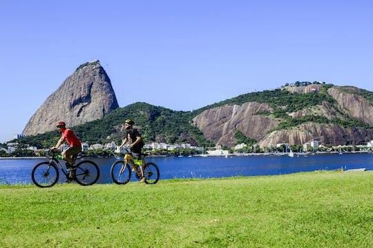 Passeio de bicicleta no Rio com Pão de Açúcar e no centro