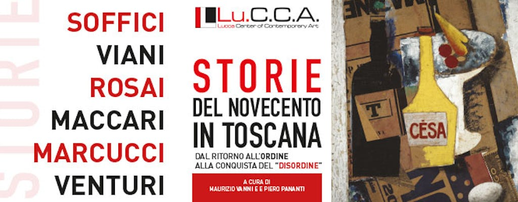 "Exhibition tickets to ""Storie del Novecento in Toscana"" at the Lu.C.C.A. – Lucca Center of Contemporary Art"