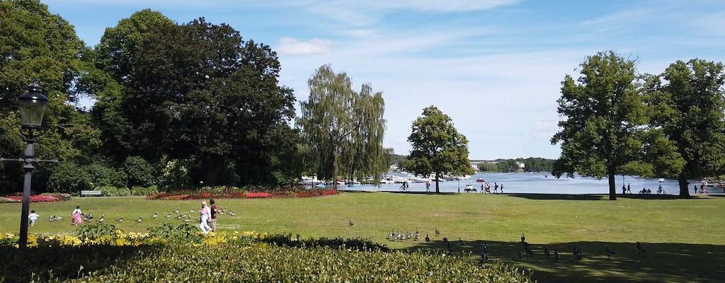 Bicicleta de Estocolmo Royal Park y atracciones todo incluido Tour