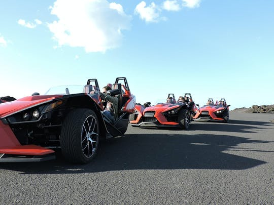 Slingshot Volcano Tour