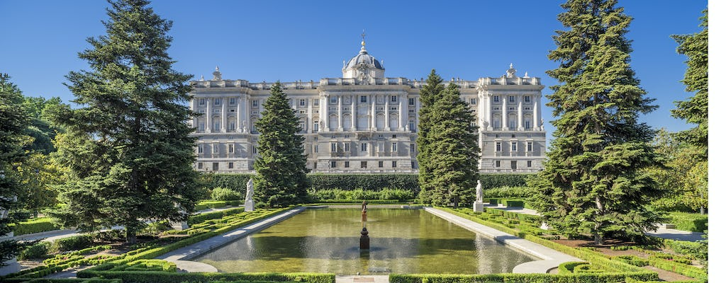 Guided tour of the Royal Palace of Madrid