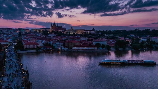 Prague 3-hour crystal dinner cruise