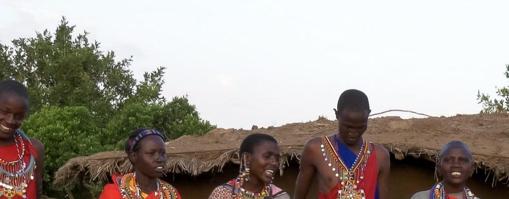 Wizyta w wiosce Maspai Olpopongi