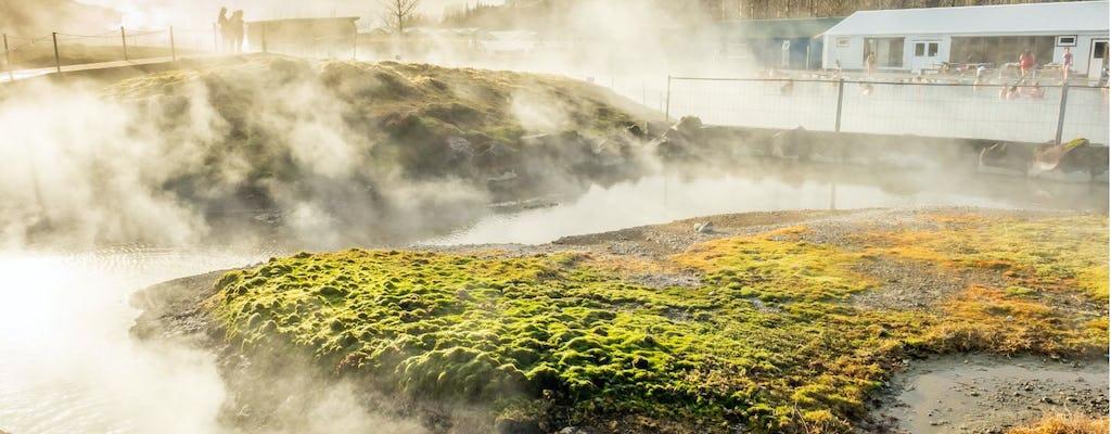 Entrada e transporte secretos da lagoa de Reykjavik