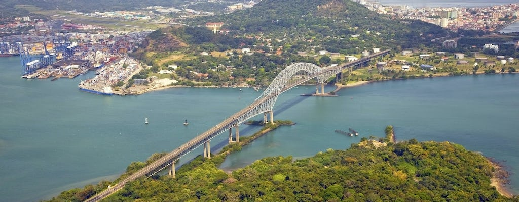 Panama Canal and city guided tour