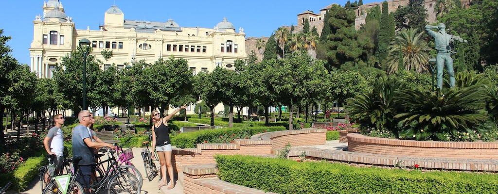 Tour in bici della città a Málaga