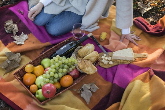 Bezoek aan Villa Borghese met picknickmand