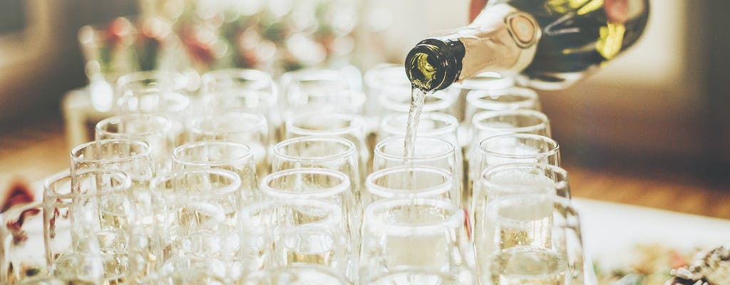 Wycieczka po mieście z degustacją szampana