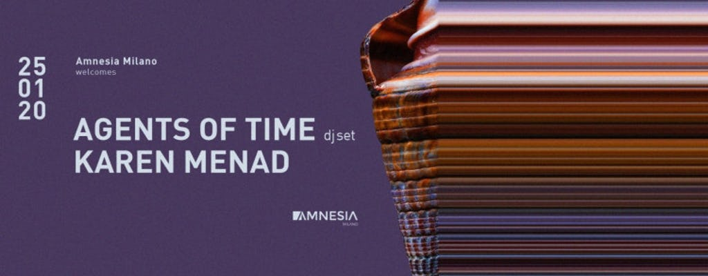 Agents Of Time (dj Set), Karen Menad