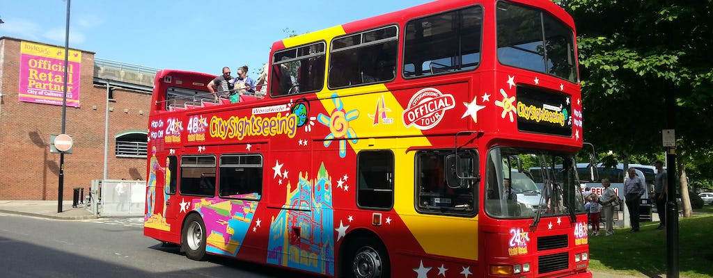 Tour in autobus hop-on hop-off di Londonderry