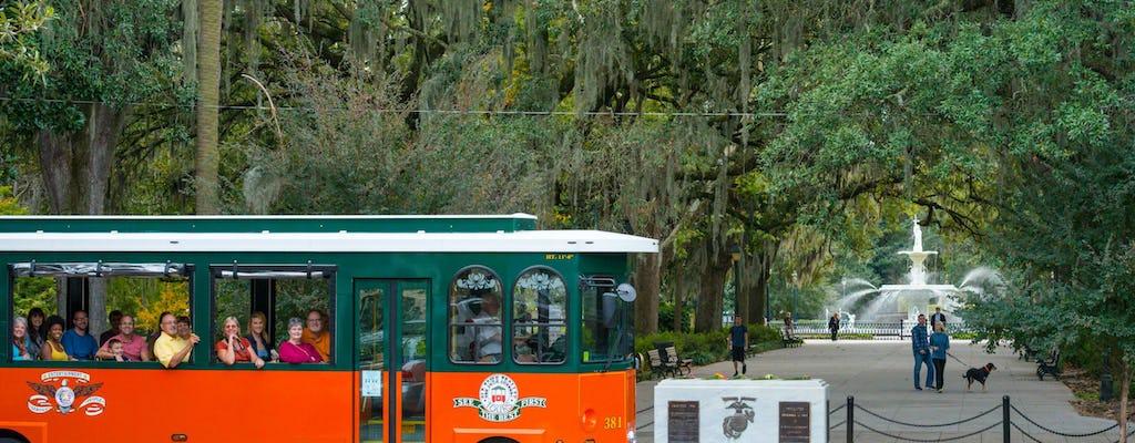 Tour in tram della Città Vecchia di Savannah