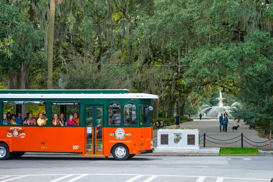 Old Town Trolley-rondleidingen door Savannah