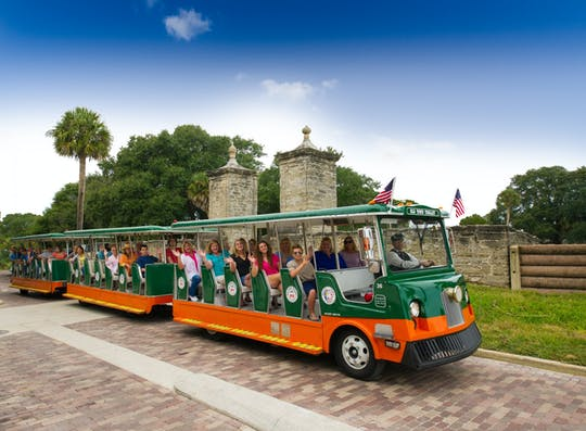 Old Town Trolley tours of St. Augustine