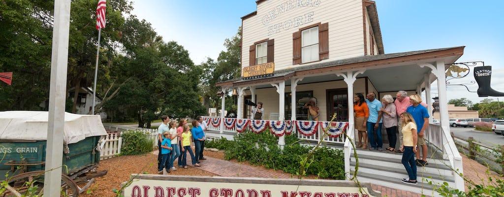 Expérience du musée du plus vieux magasin de St. Augustine
