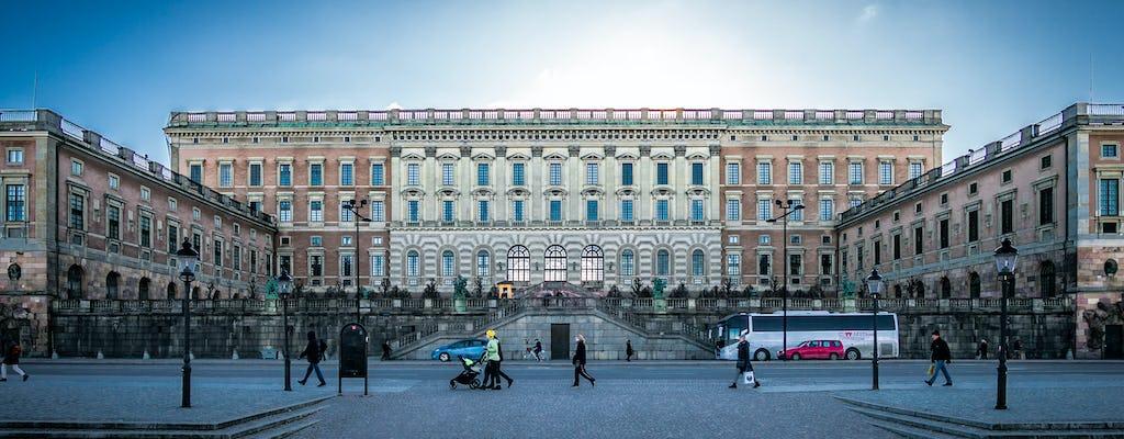 Tour a pé privado pela Estocolmo Real
