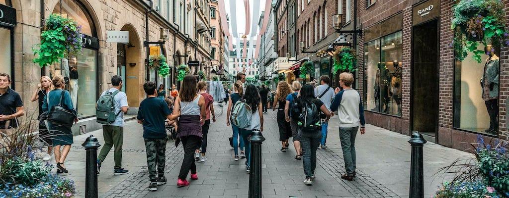 Excursão a pé privada pela cidade de Estocolmo e Ice Bar