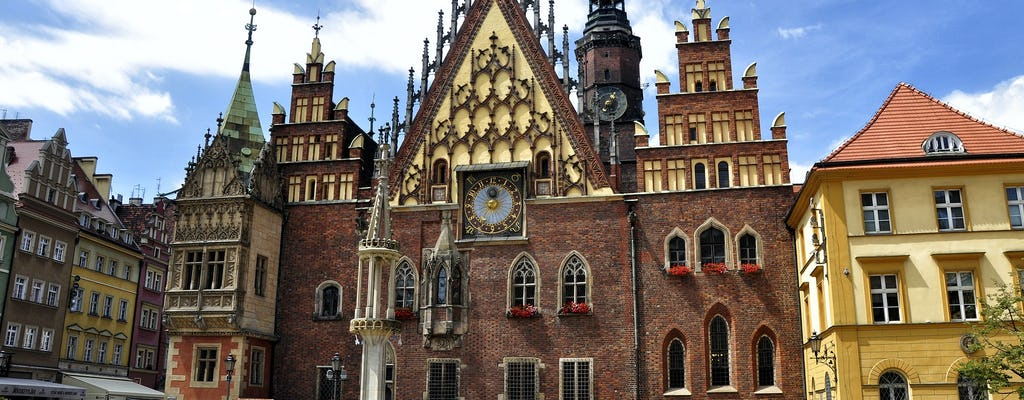 Old Town highlights private walking tour in Wroclaw