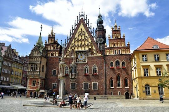 Il centro storico mette in evidenza il tour privato a piedi a Wroclaw