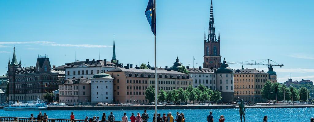 Стокгольм подчеркивает частная пешеходная экскурсия