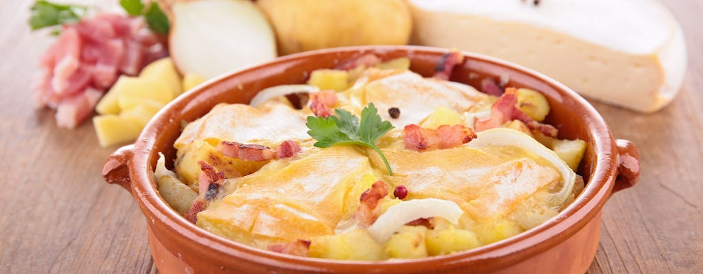 Tartiflette Experience with herbalist guide in Annecy